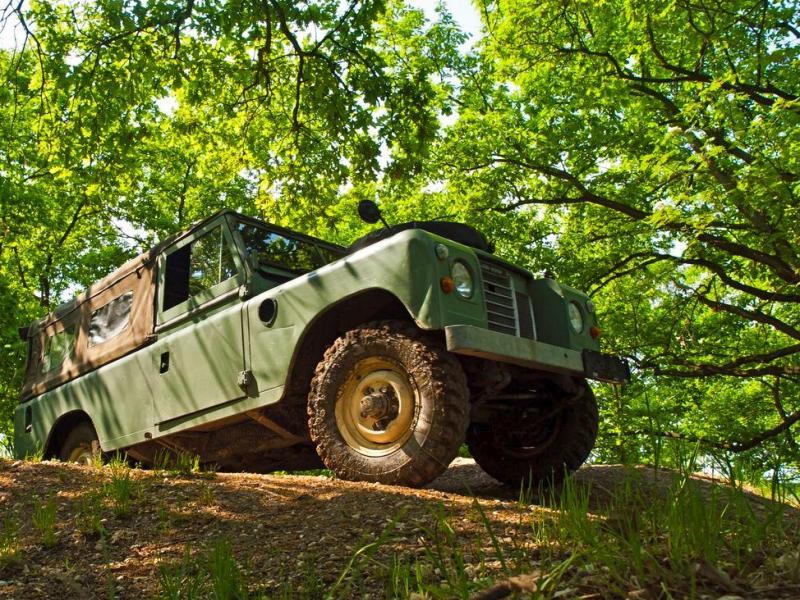 Land Rover off-road – celodenní trénink