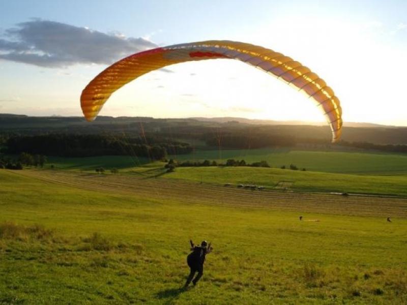 Minikurz paraglidingu