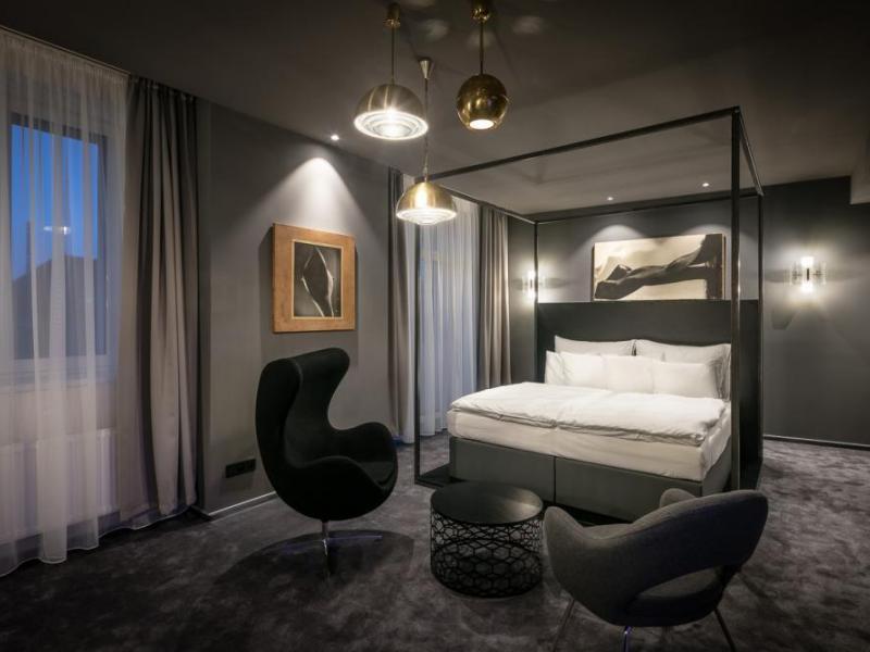 Noc v designovém pokoji Grand hotelu Imperial****