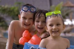 Rodinný víkend v aquaparku Praha