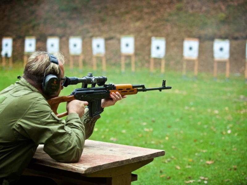 Střelba na venkovní střelnici